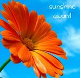 """The recipients of the Sunshine Award are bloggers who positively and creatively inspire others in the blogosphere."""