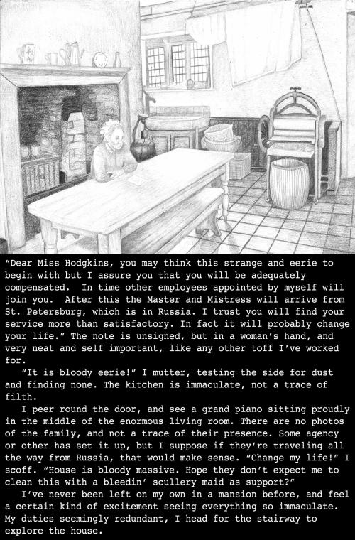 Violet's back story, set in London, England (1899)