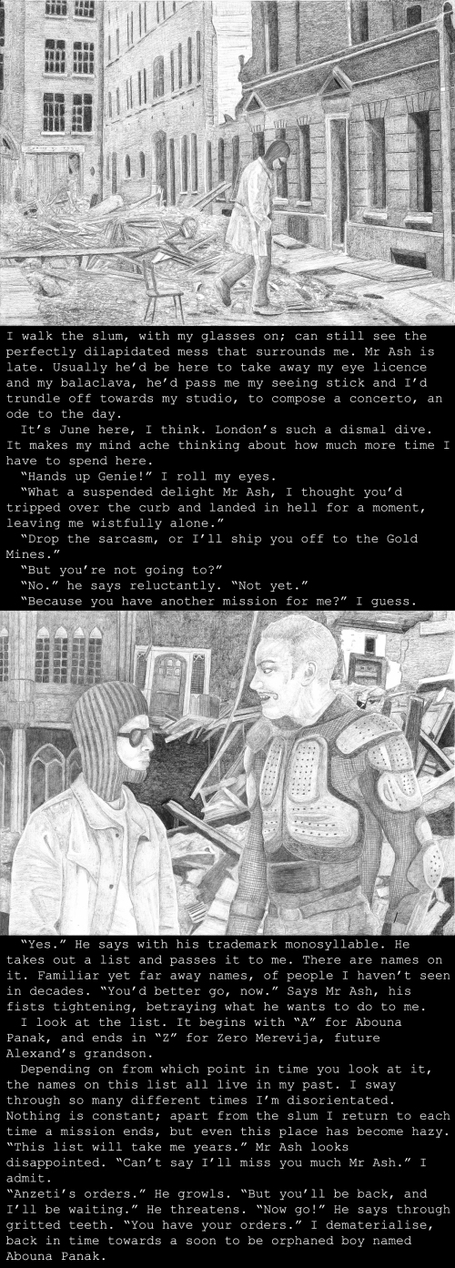 The Guild Master's General's back story, set in London (Formerly Hampshire) England (6461)